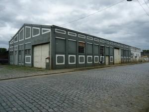 Galpão das oficinas de Cruzeiro