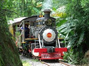 Trem da Estrada de Ferro Santa Catarina